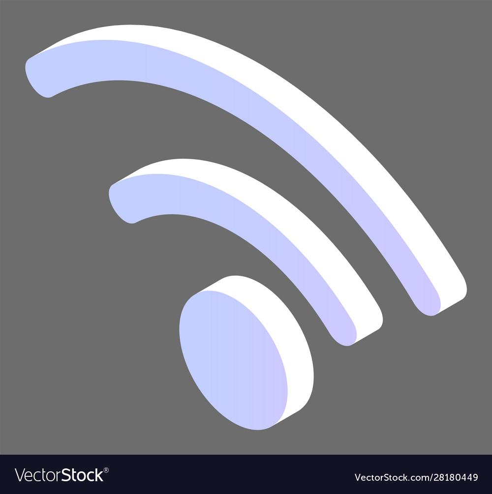 Wifi logotype wireless communication web