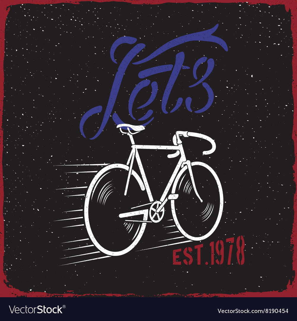 Bicycle Quote Lets GO