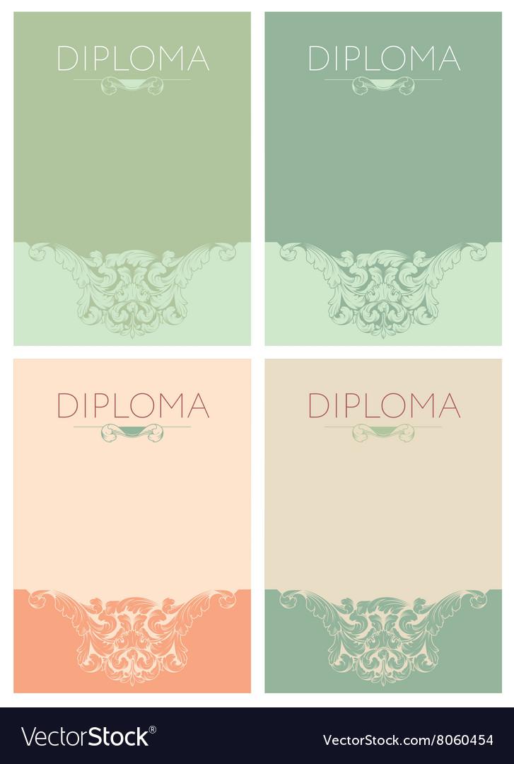 Diploma baroque