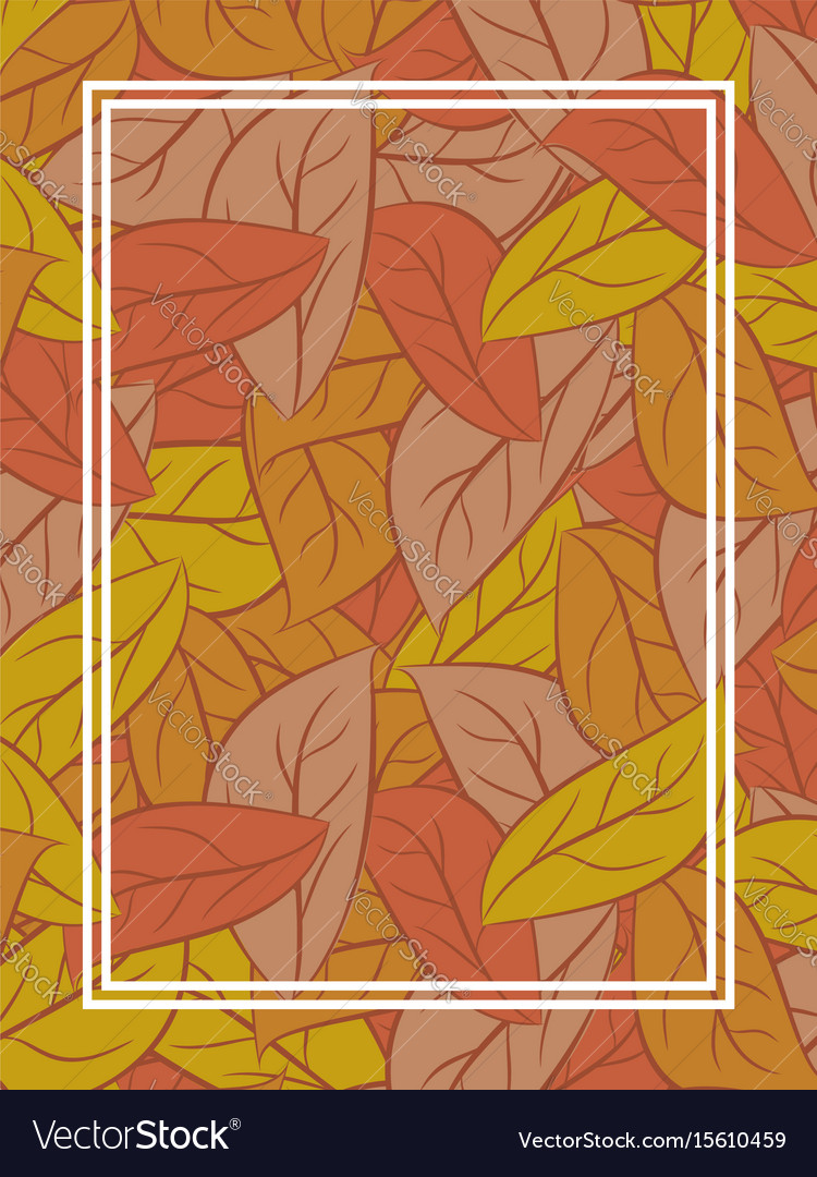 Autumn leaves background yellow fallen leaf