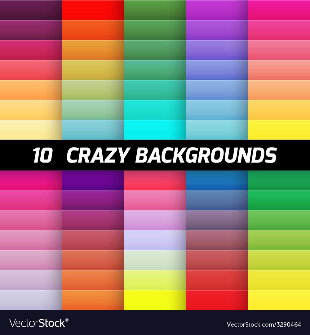 Crazy gradient background pack element