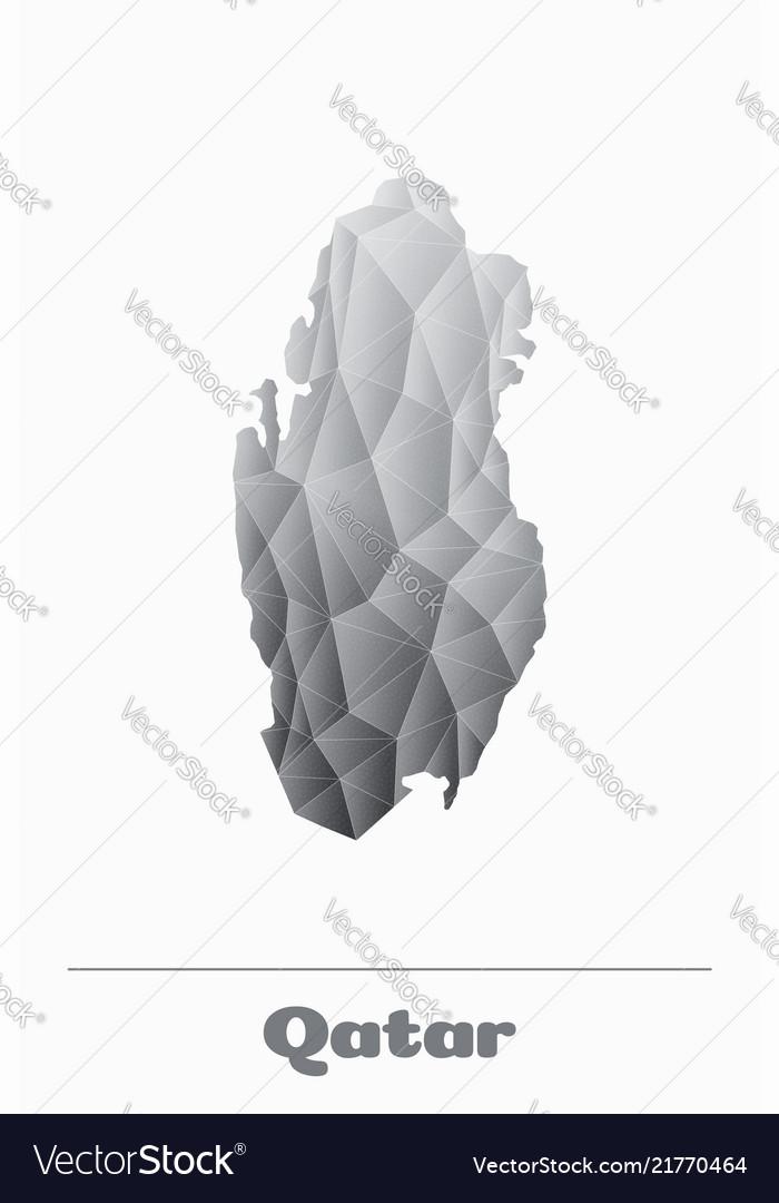 Qatar network map black and white logo