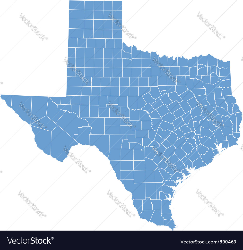 Free Map Of Texas.State Map Of Texas By Counties