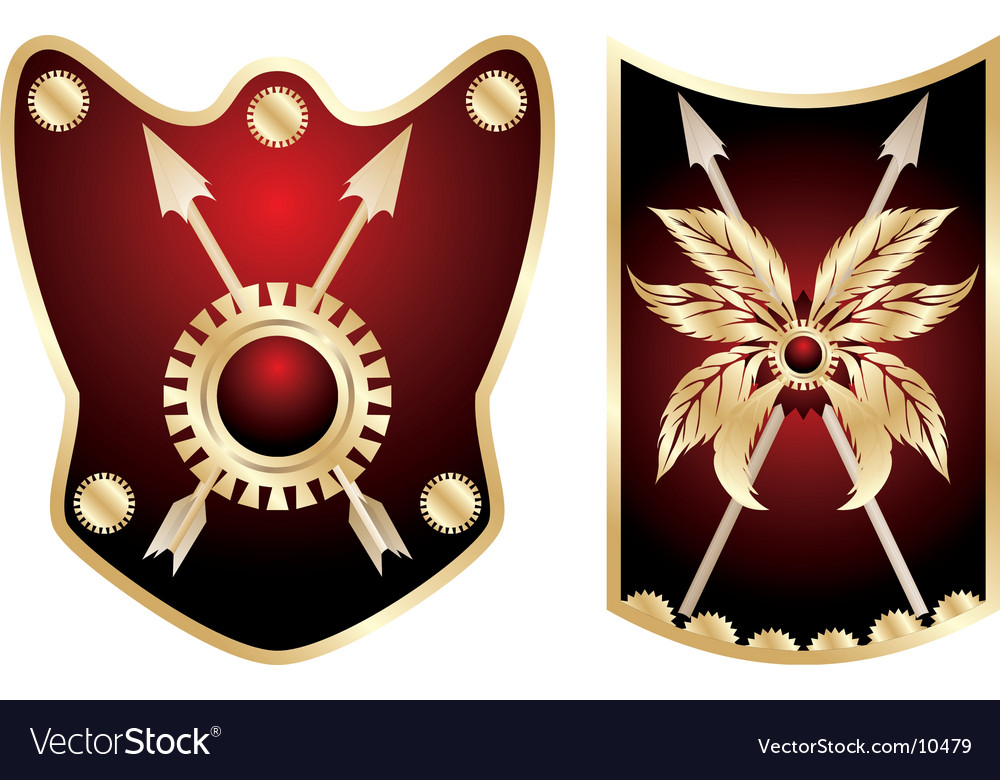 Shield elements for design
