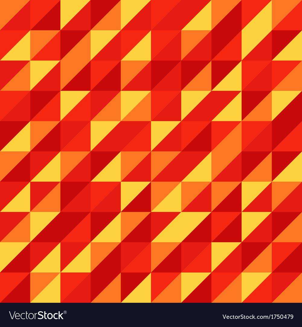 Vintage geometric Retro pattern