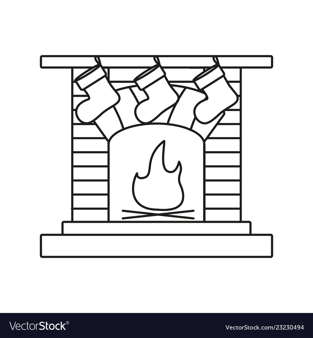 A fireplace a hearth a chimney a mantelpiece icons