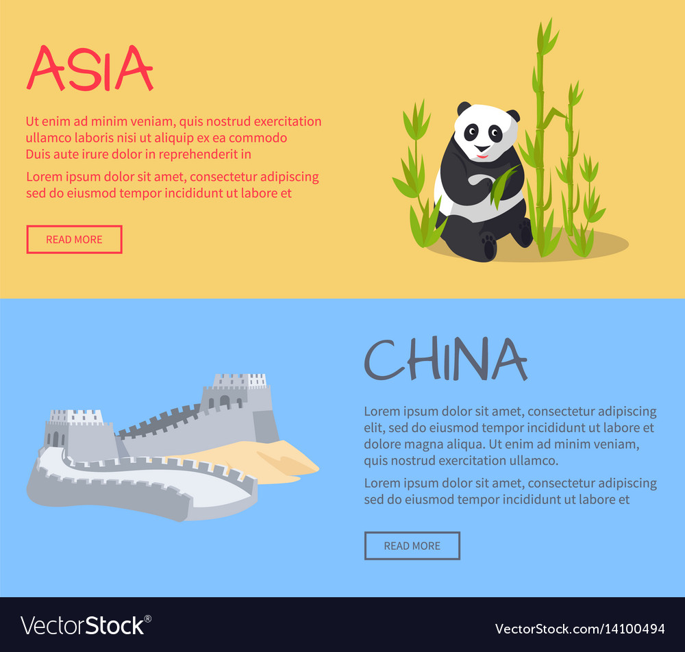 Great wall of china part of ancient structure vector image