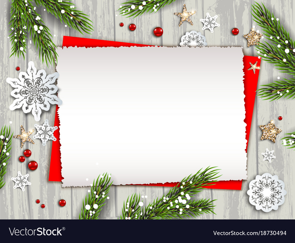 holiday nature template frame royalty free vector image vectorstock