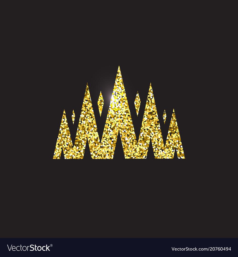 Queen crown royal gold headdress king golden
