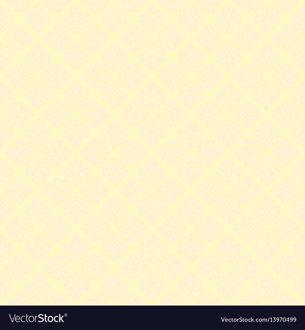 Beautiful queen seamless pattern with fleur de lys vector image