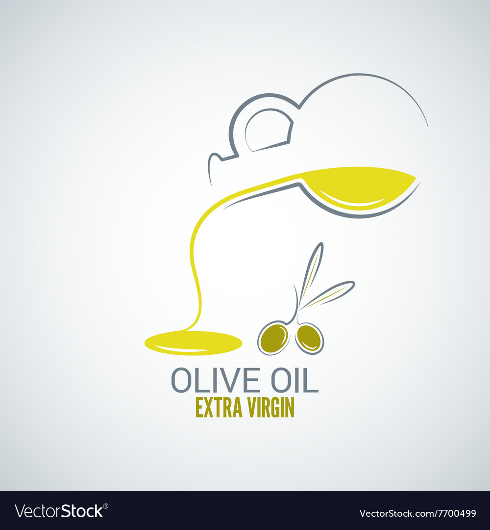Olive oil design background