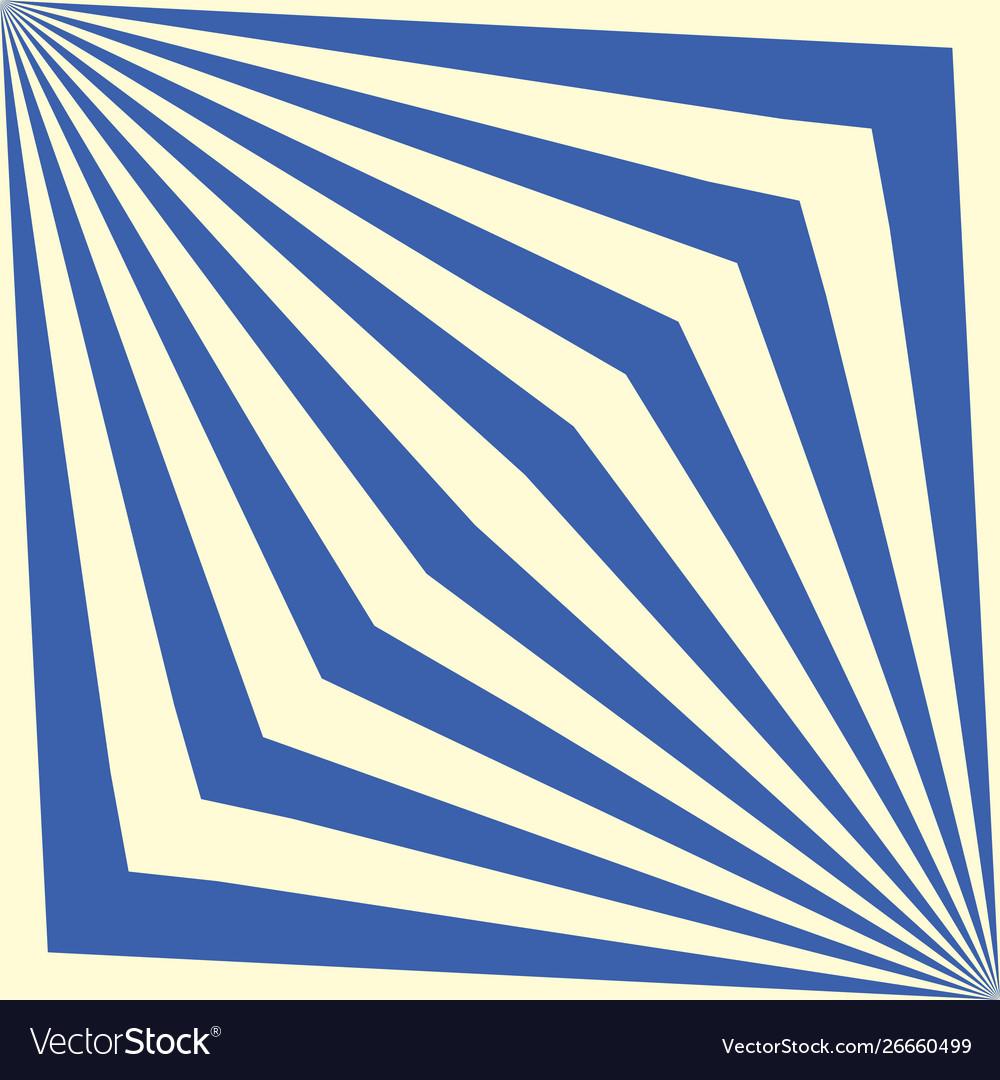Seamless geometric striped blue pattern