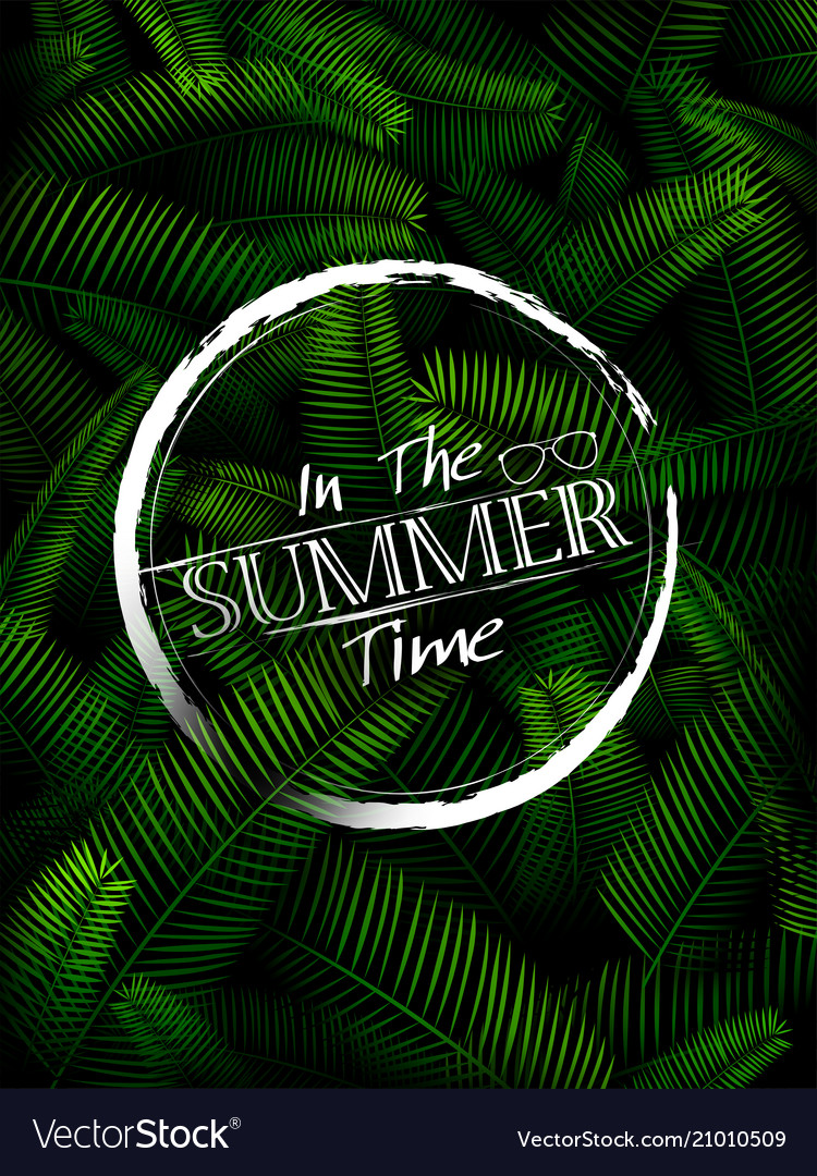 Summer time poster wallpaper for fun party