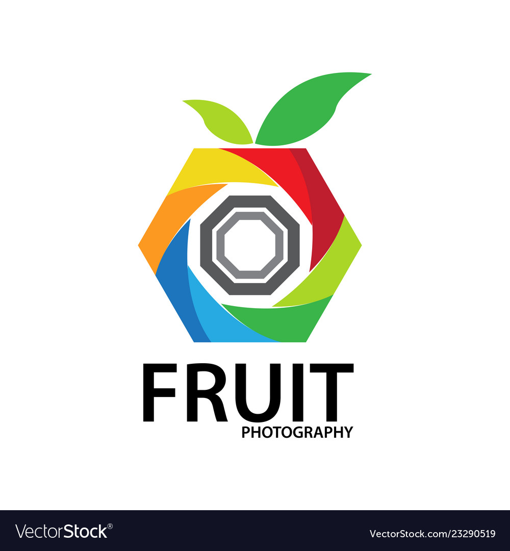 Fruit photography logo