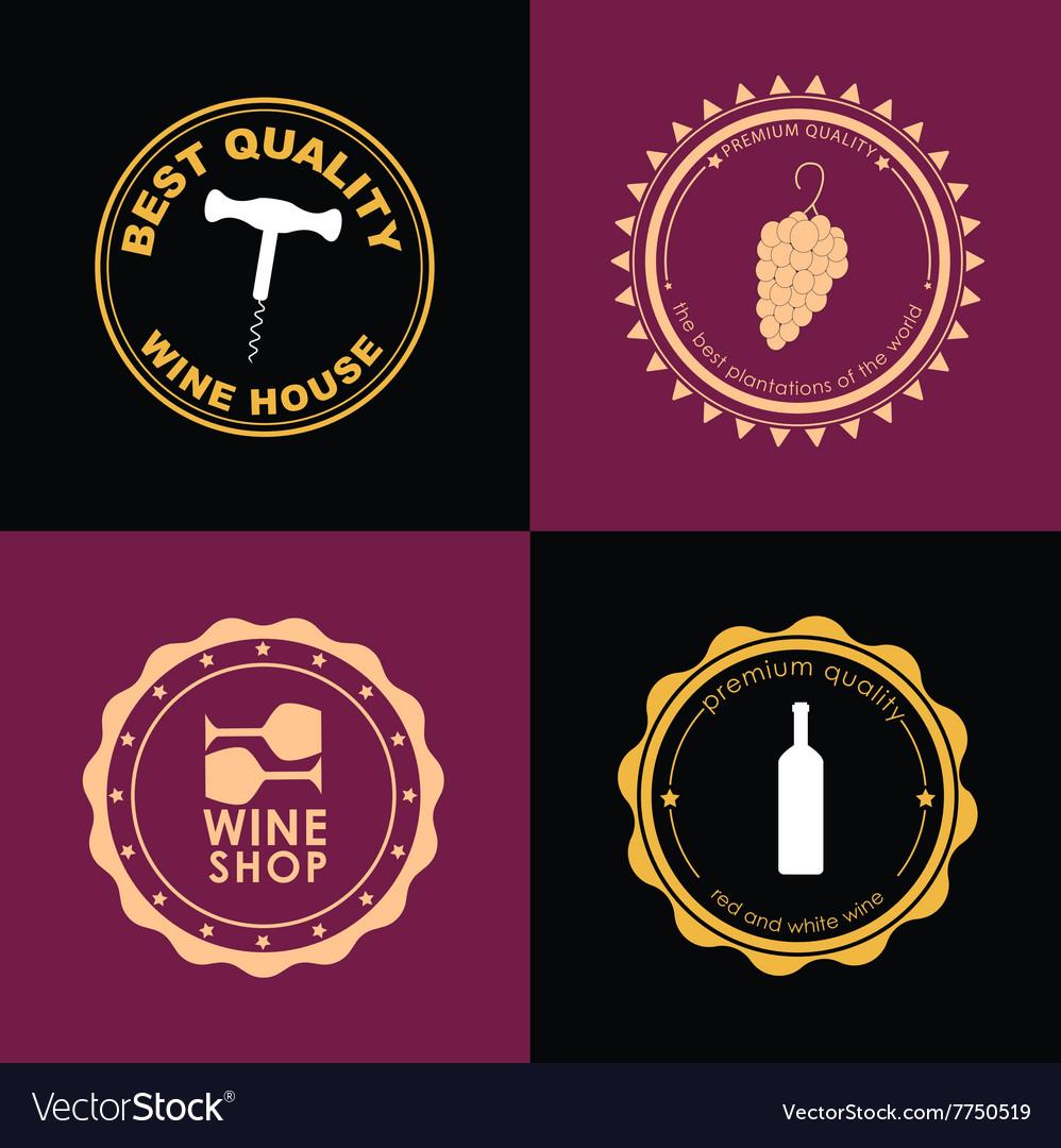 Logo Design for wine shops cafes restaurants