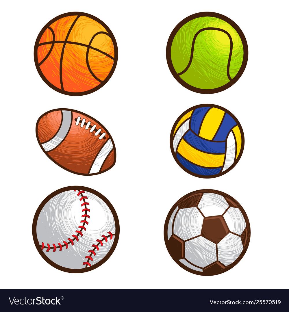 Sport ball set