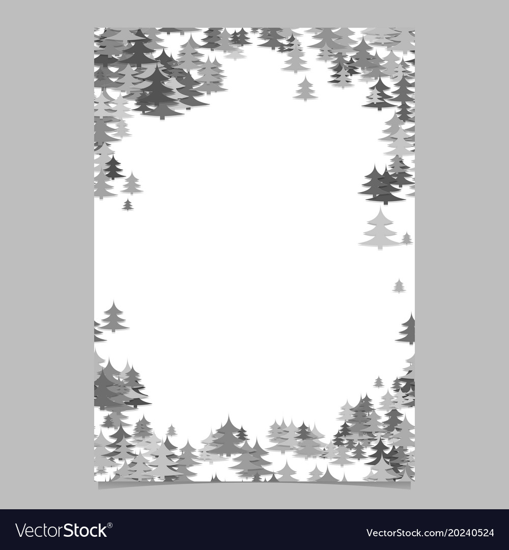 Modern christmas design page template - blank