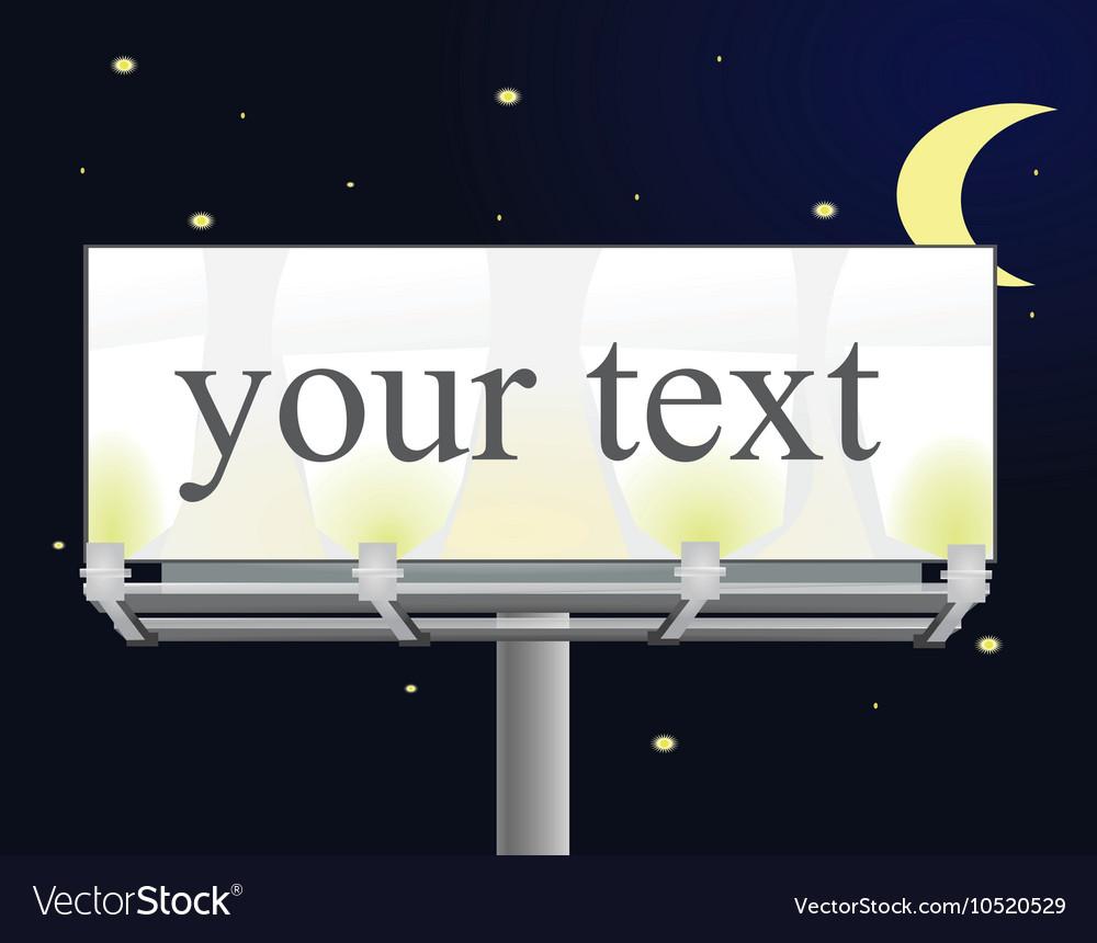 Billboard by night