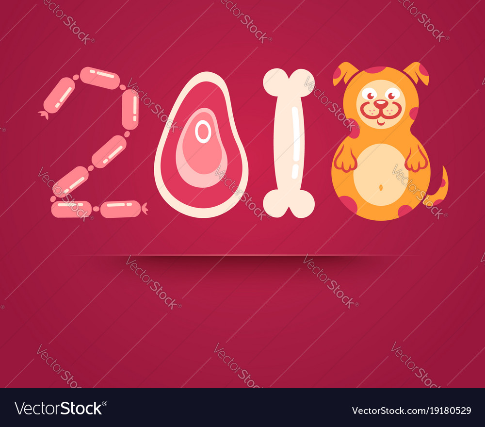 Dog and 2018
