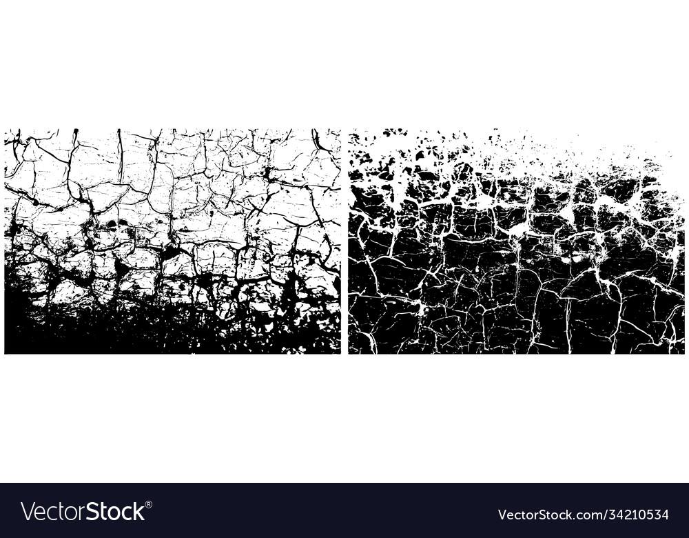 Grunge black and white distress scratch rough