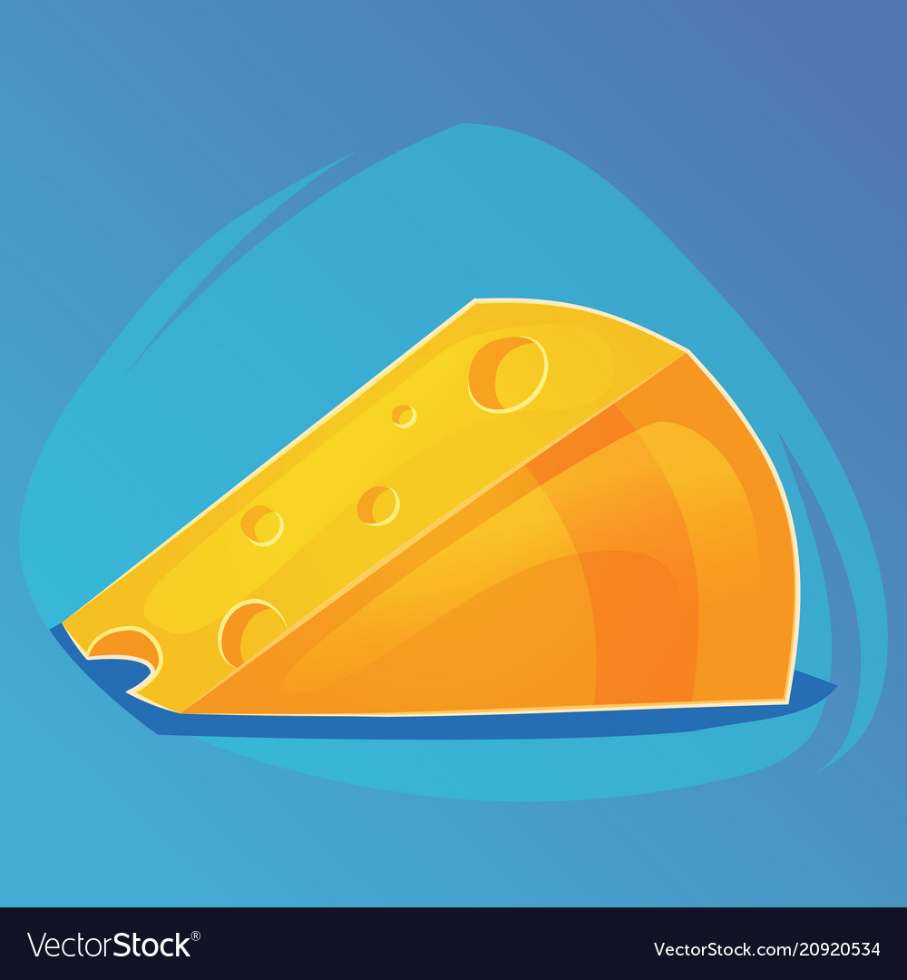 Triangular piece of cheese cheese game icon