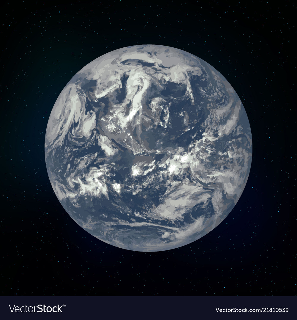 Earth realistic planet