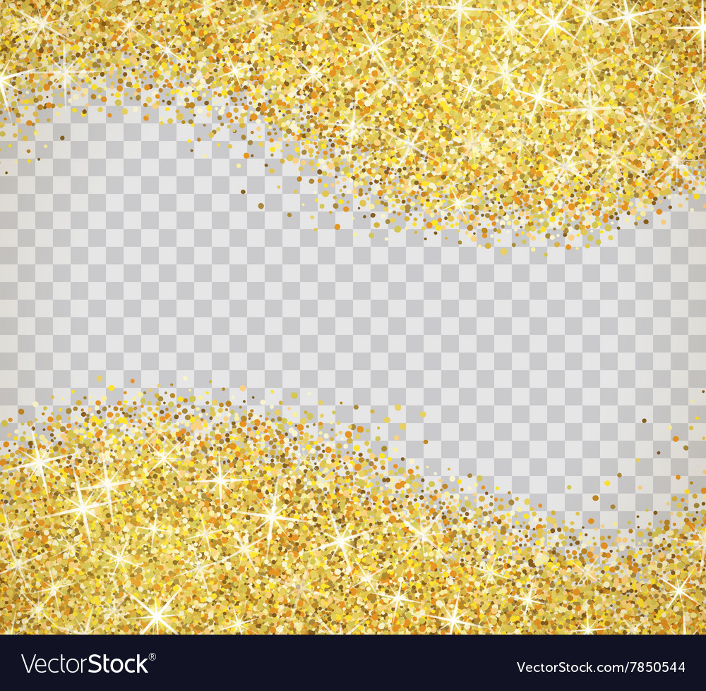 gold glitter texture with sparkles royalty free vector image