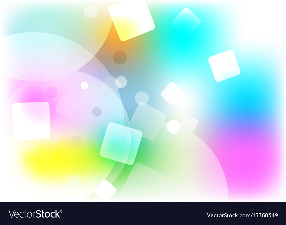 Color Abstract Vector Background Text Frame Stock Vector: Abstract Background Multi Shape Color Concept Vector Image