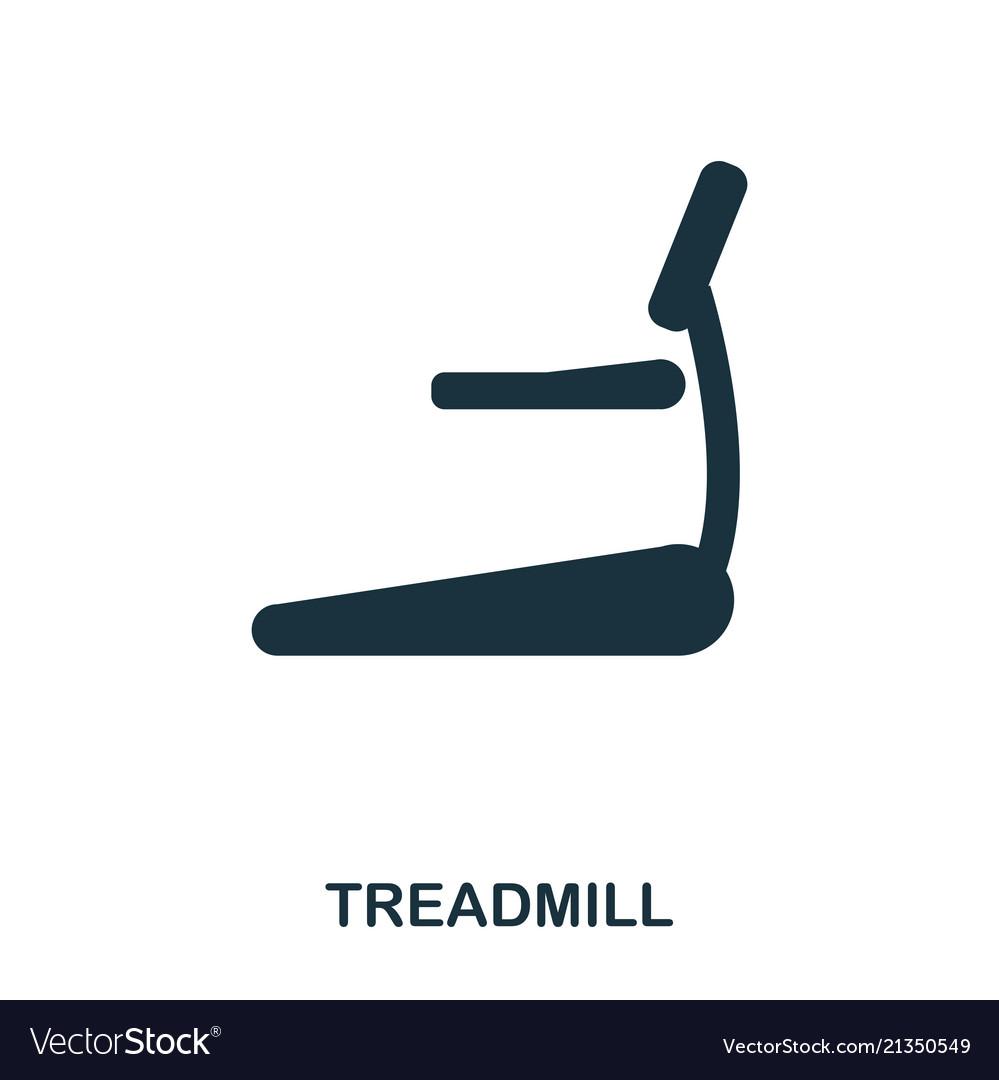 Treadmill icon premium style icon design ui