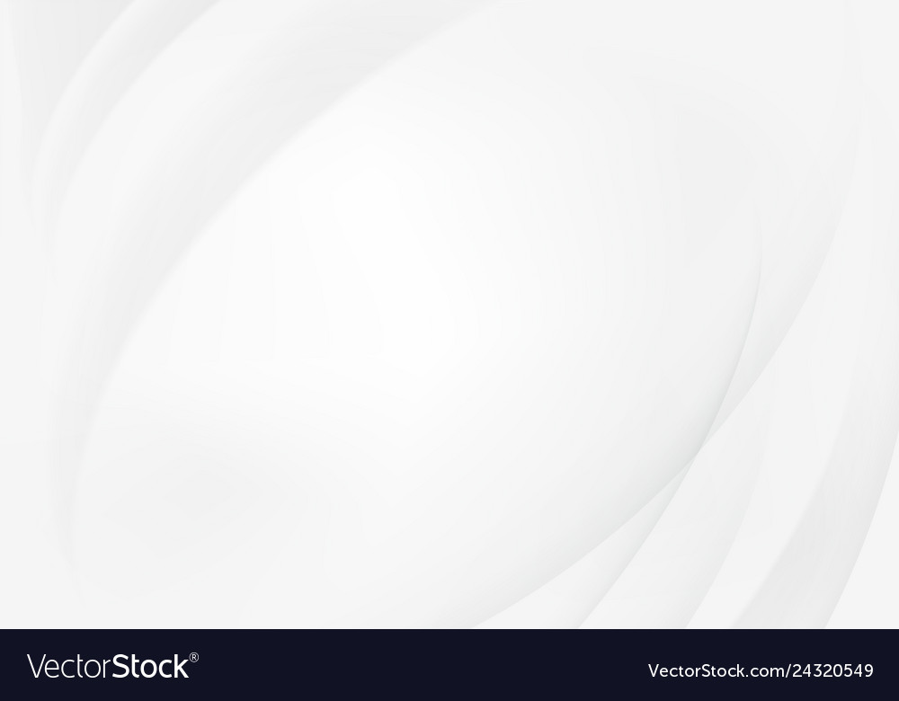 White background with abstract shadow wave line