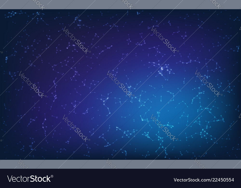 Blue geometric pattern triangles background