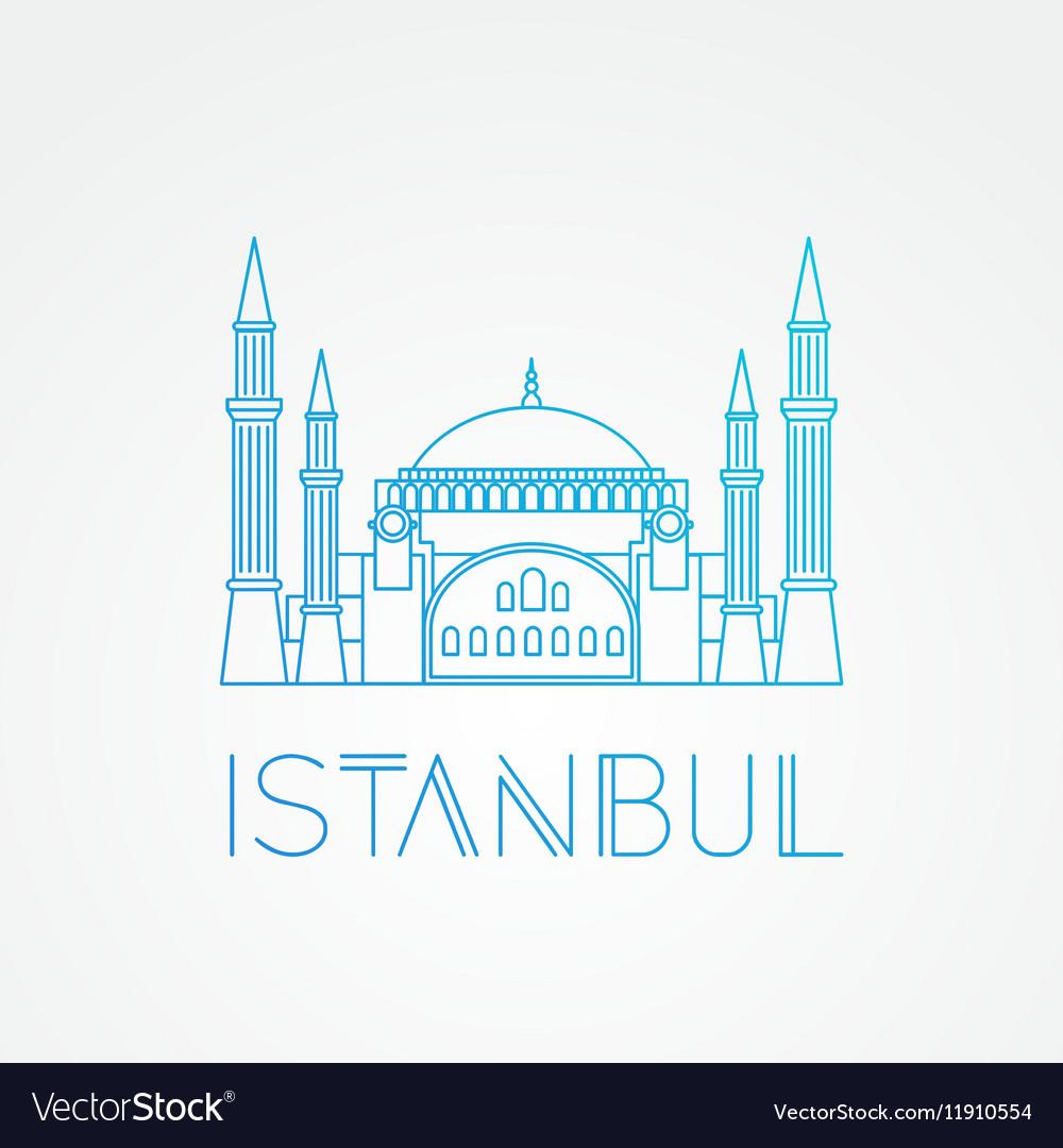 Hagia Sophia - the symbol of Turkey Istanbul