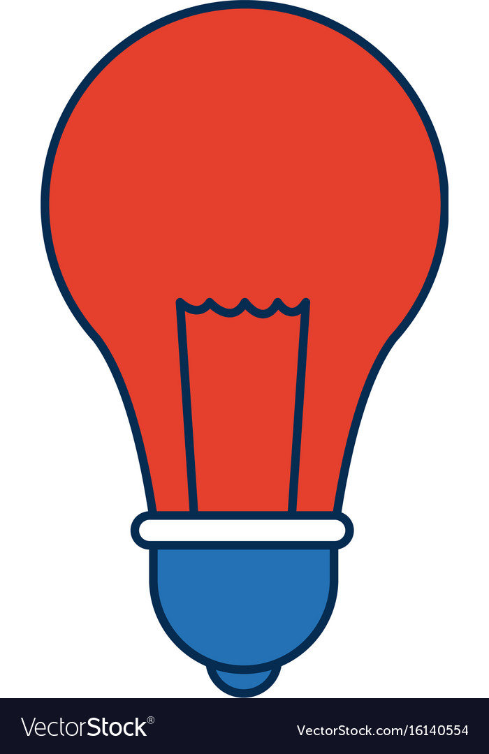 School bulb idea creativity innovation icon vector image on VectorStock