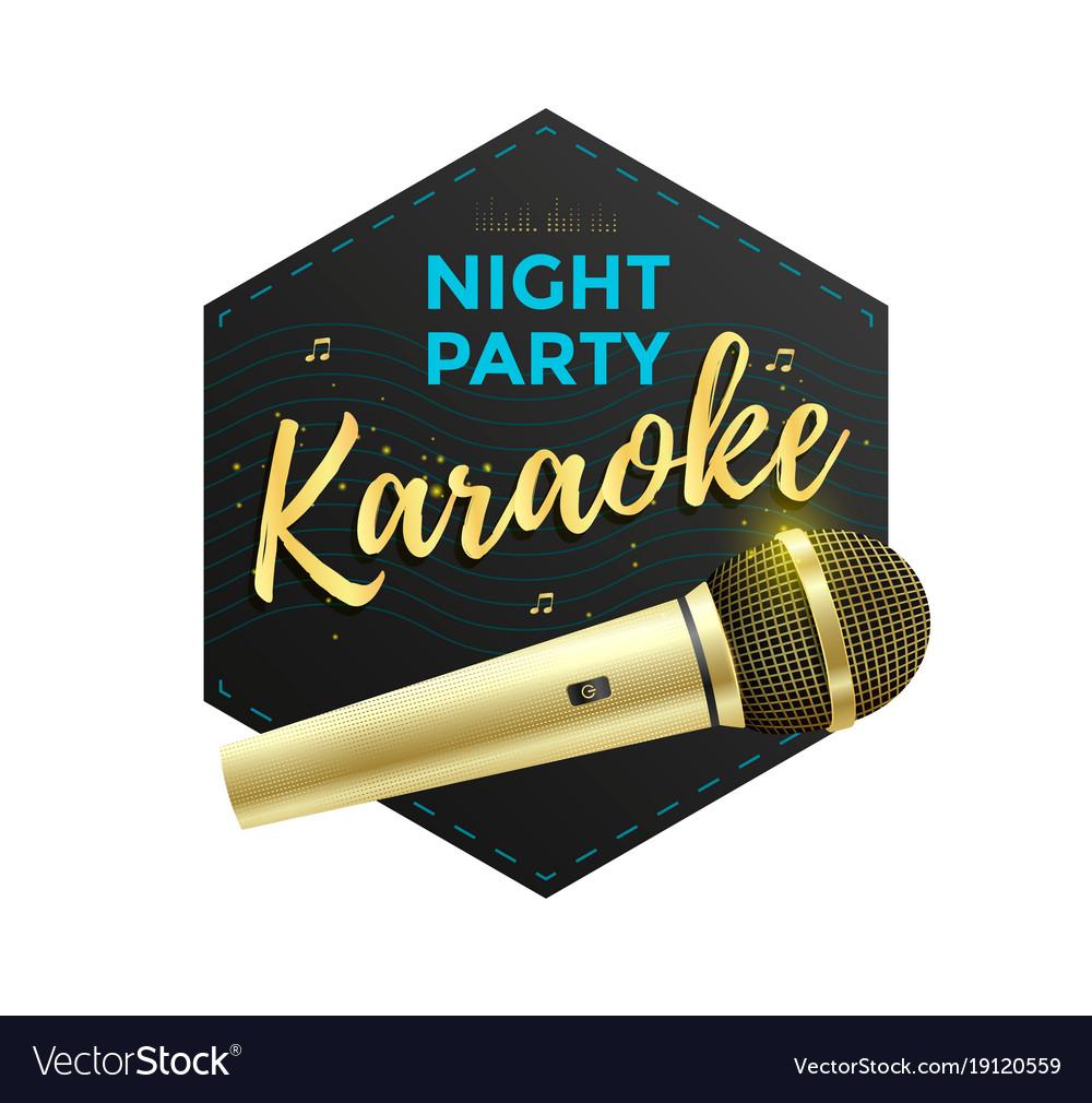 Karaoke party label