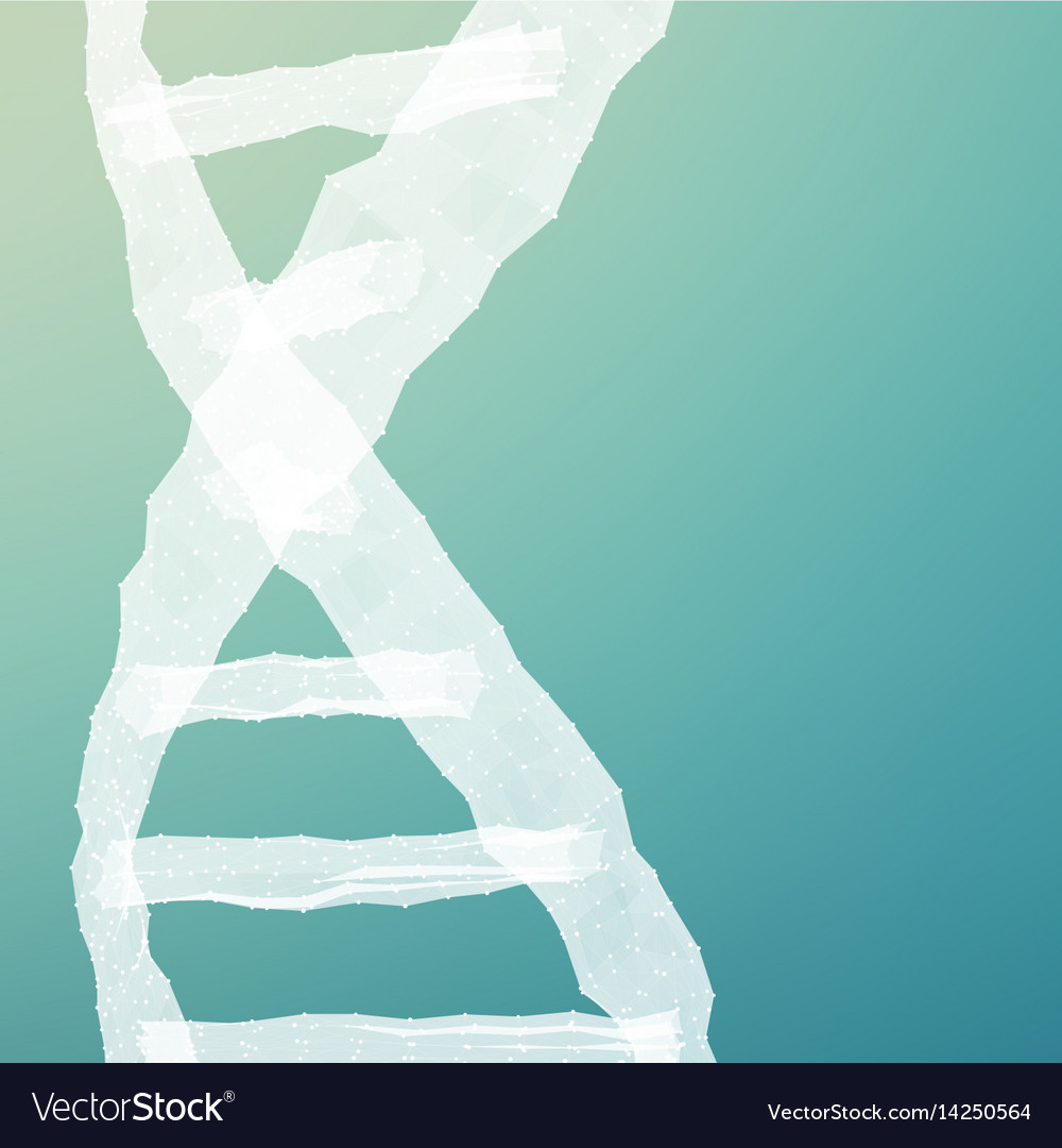 Abstract dna mesh background