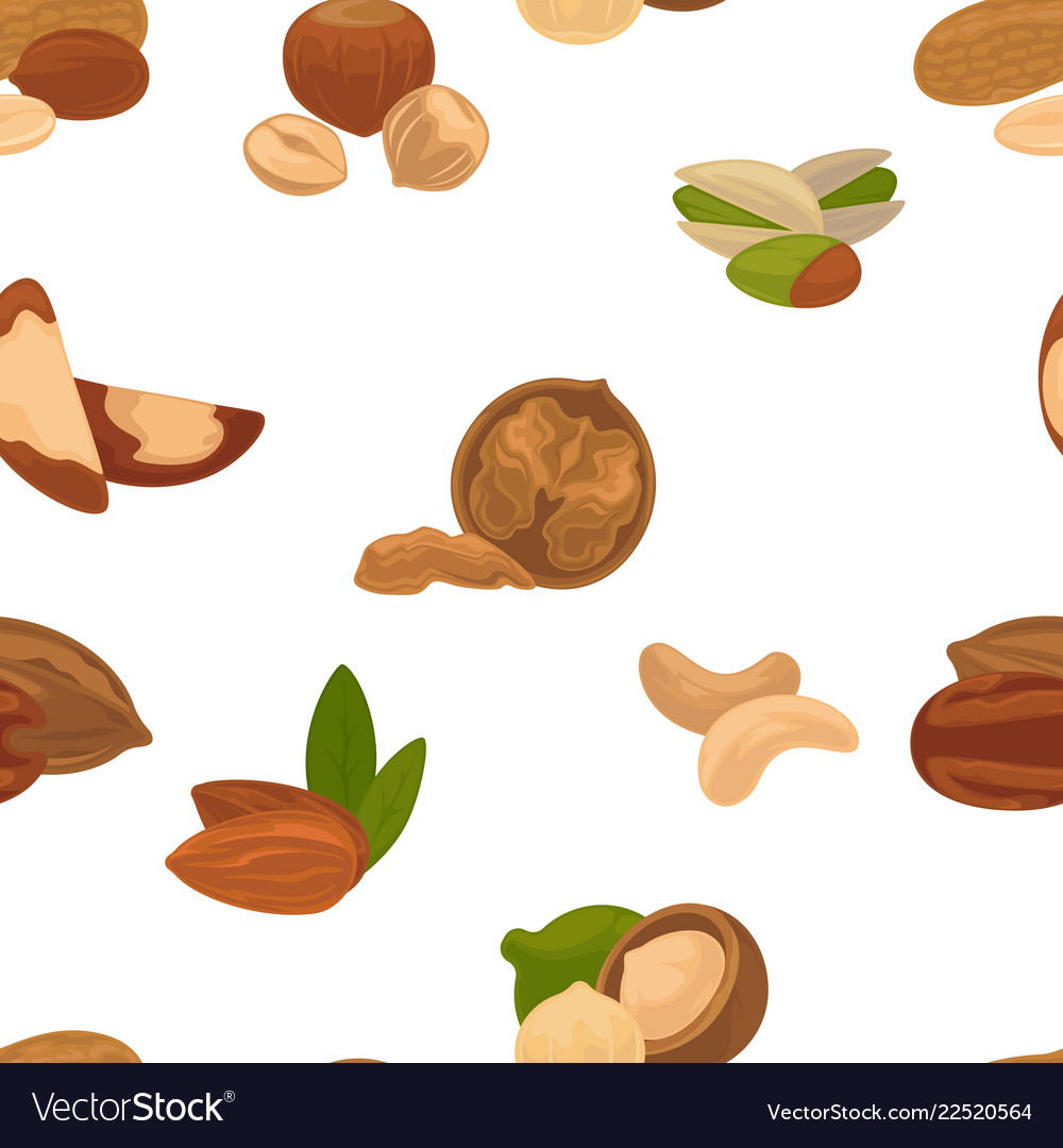 Delicious nutritious nuts full of vitamins and