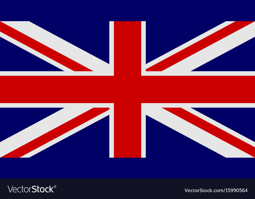 Flag of united kingdom of great britain and
