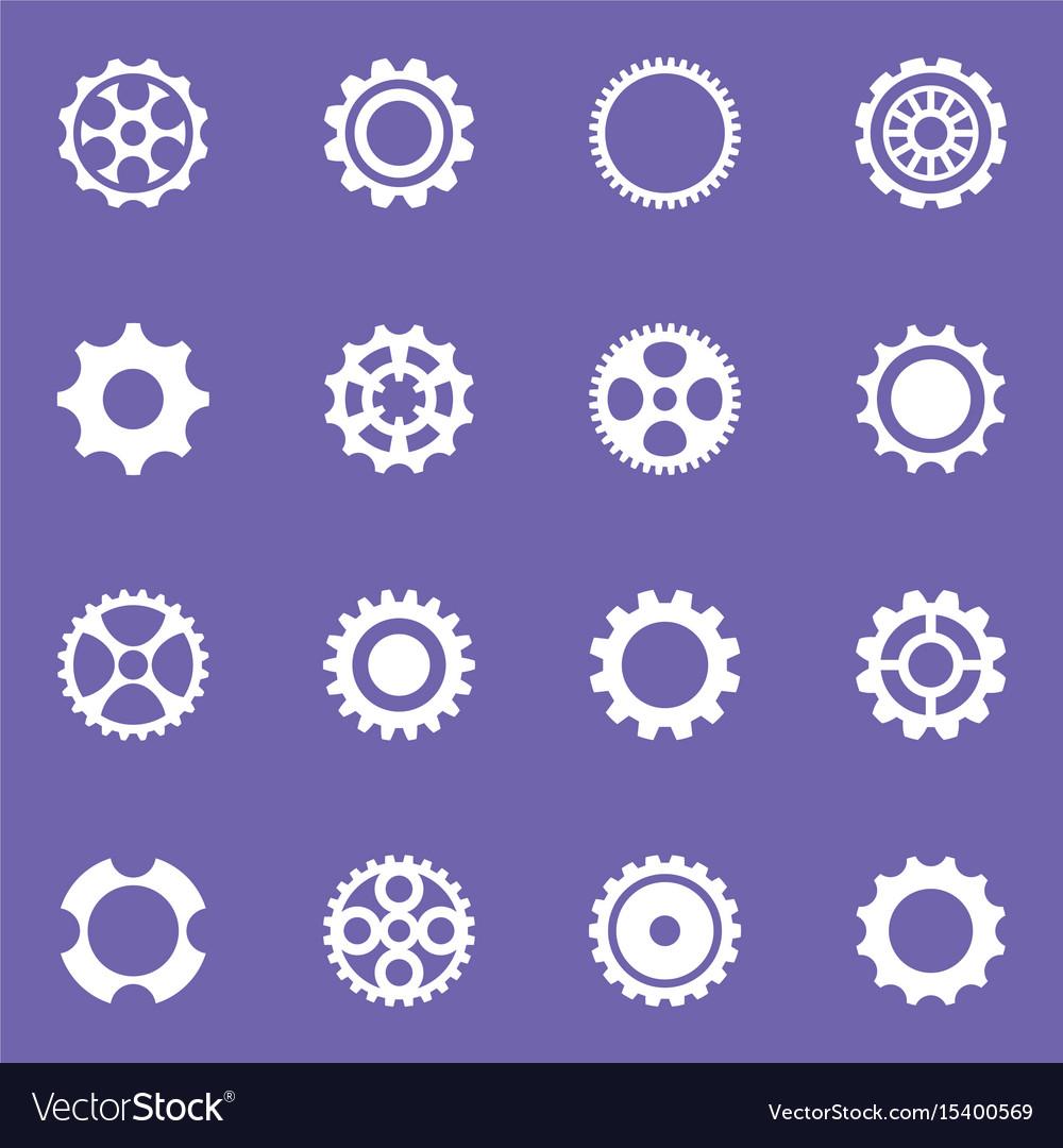 Simple cog wheels and gears