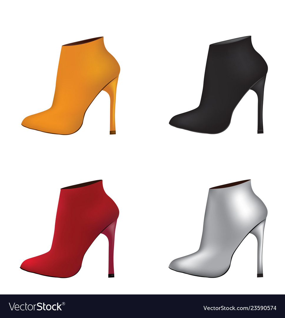 Ankle set boots