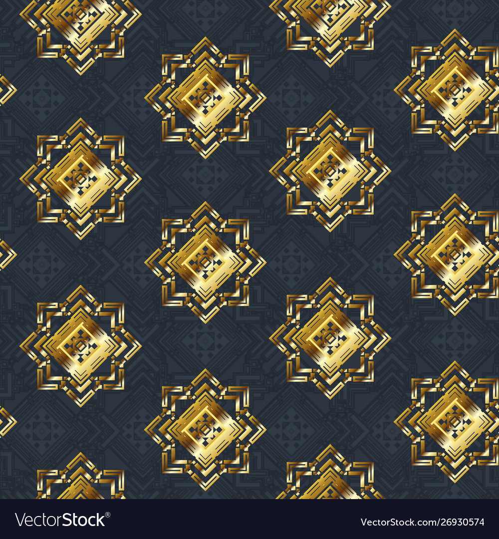 Gold cloth seamless pattern