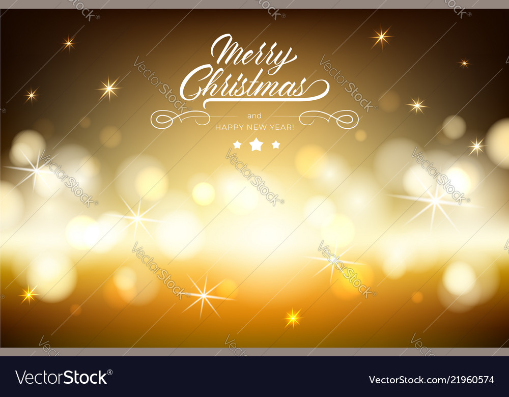 Merry chistmas lettering on brown background
