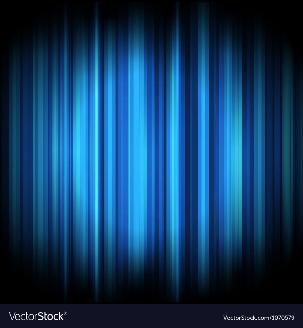 Abstract lights background blue vector image