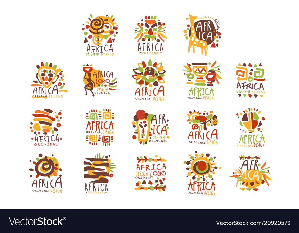 Africa logo original design travel to africa