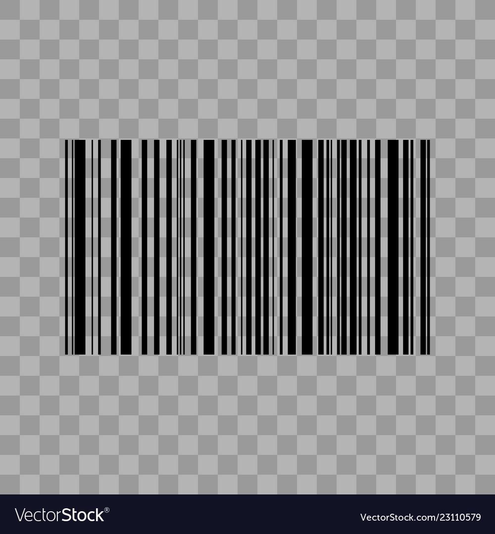 Barcode transparent background