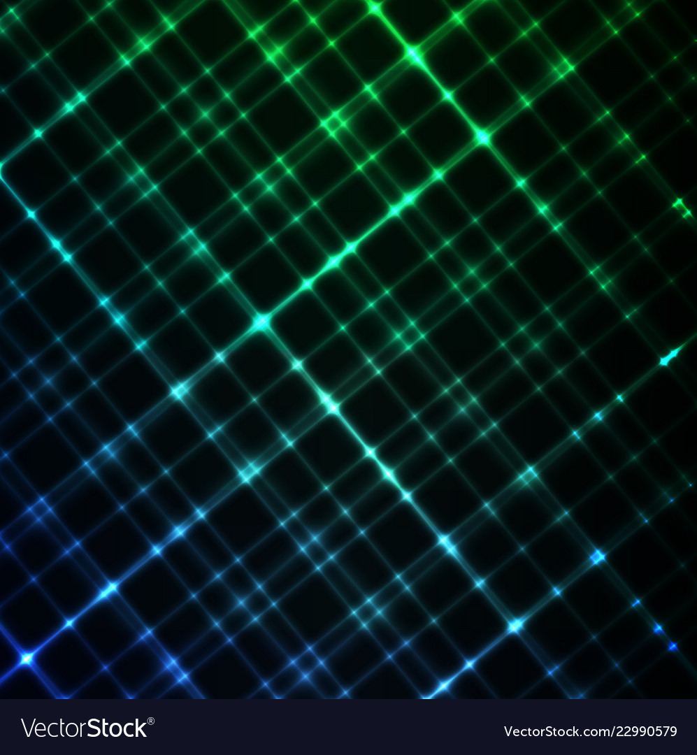 Digital glowing background hi-tech green and blue