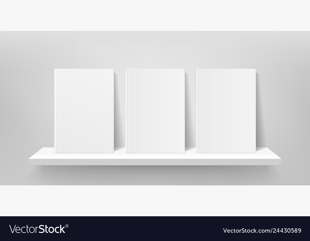Book shelf mockup bookshelf wall book front