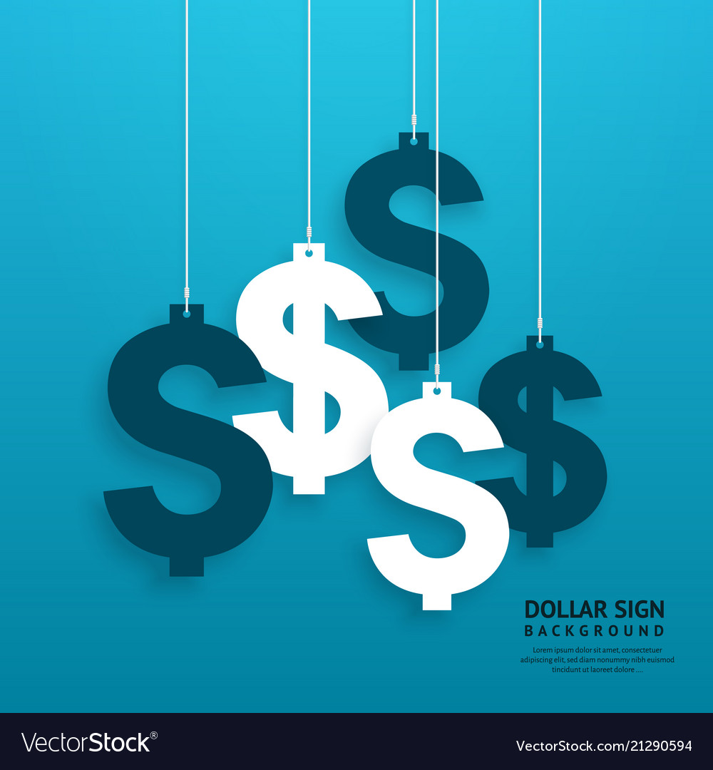 Dollar signs hanging on the ropes