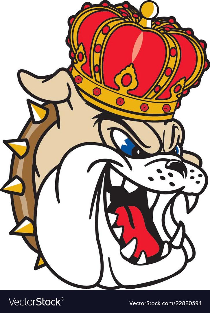 Dukes head logo mascot