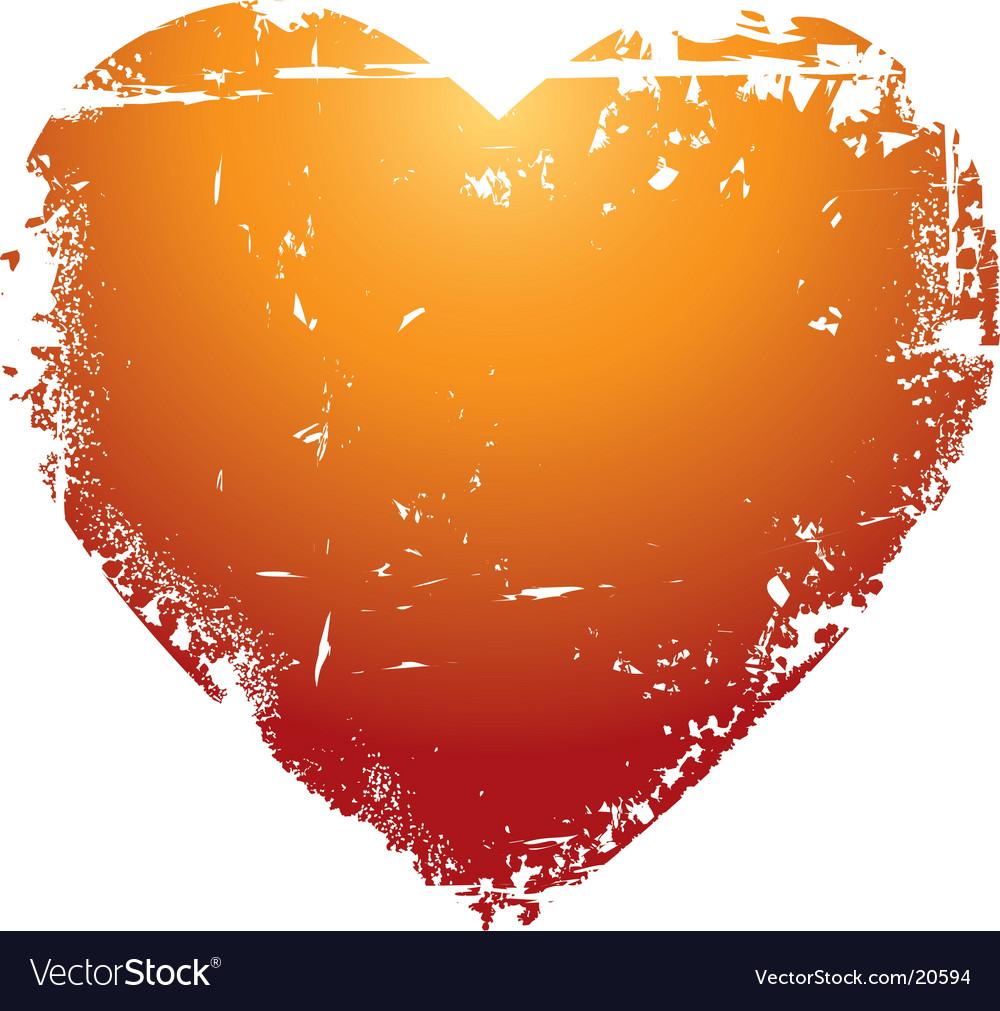 Grunge Valentine's heart