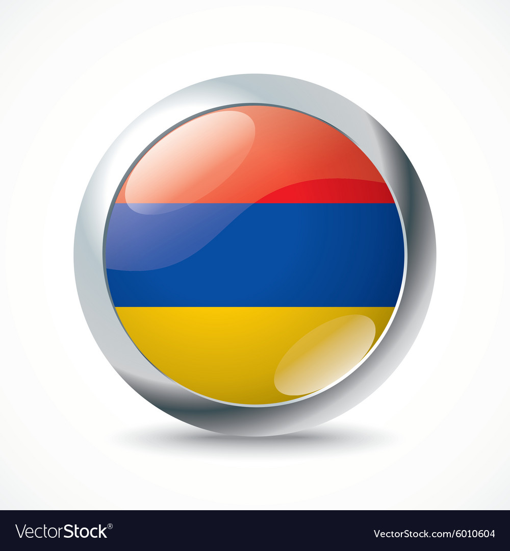 Armenia flag button